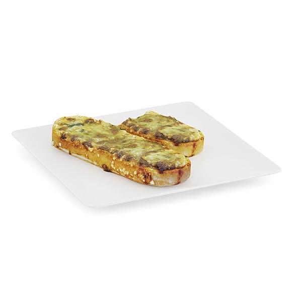 Casserole on Bread - 3DOcean Item for Sale