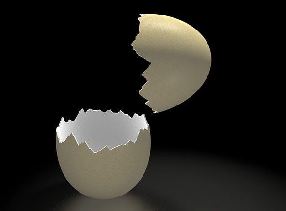 Cracked Egg - 3DOcean Item for Sale