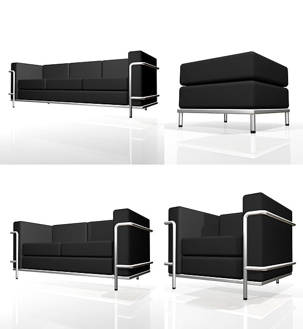 Couch-01 - 3DOcean Item for Sale