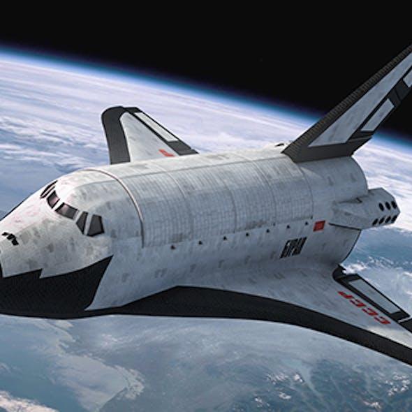 Buran Space Ship