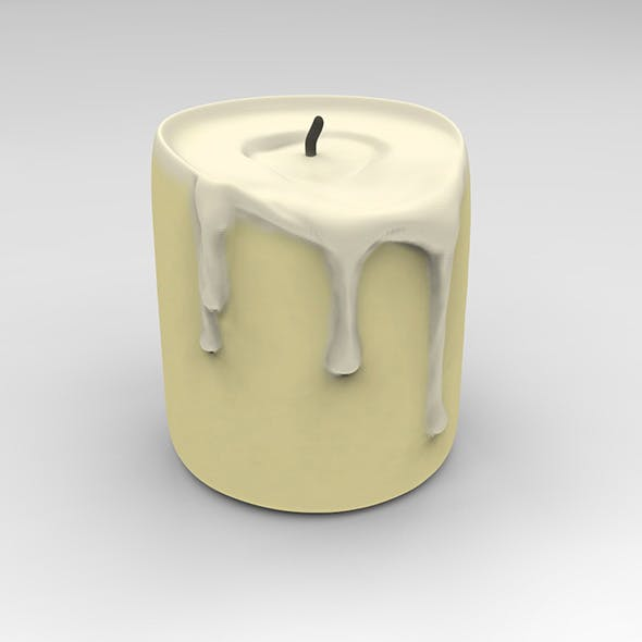 candle - 3DOcean Item for Sale