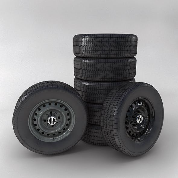 Wheel-VAZ - 3DOcean Item for Sale