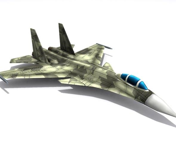 Su-37 Terminator - 3DOcean Item for Sale