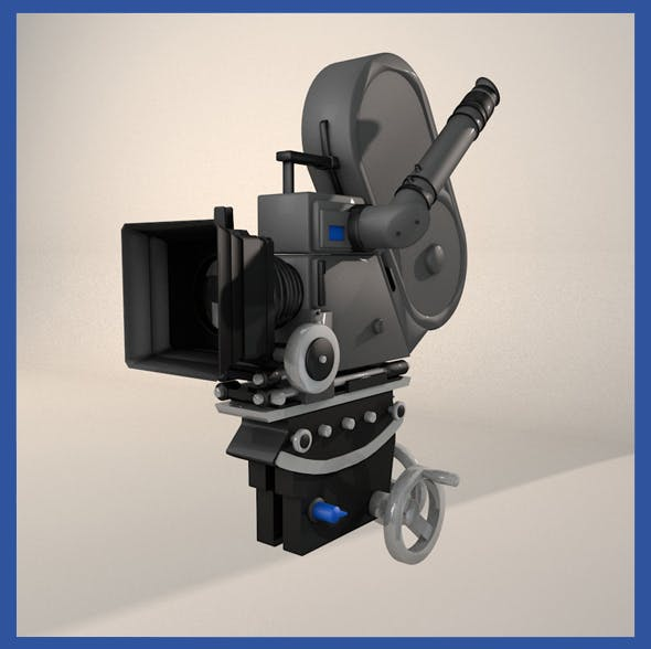 Movie Camera (V2) - 3DOcean Item for Sale