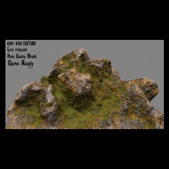 rock 21 - 3DOcean Item for Sale