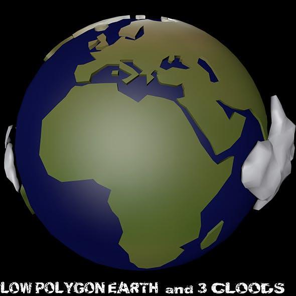 Lov polygon Earth - 3DOcean Item for Sale