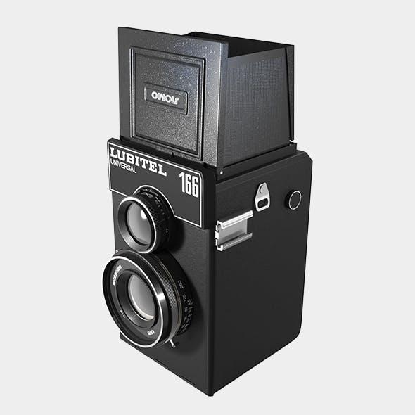 Lubitel Photo Camera - 3DOcean Item for Sale