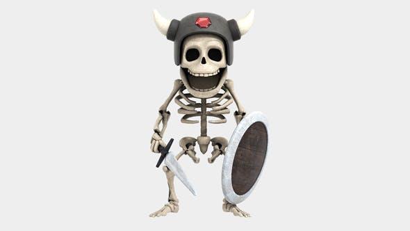 Skeleton - Soldier - 3DOcean Item for Sale