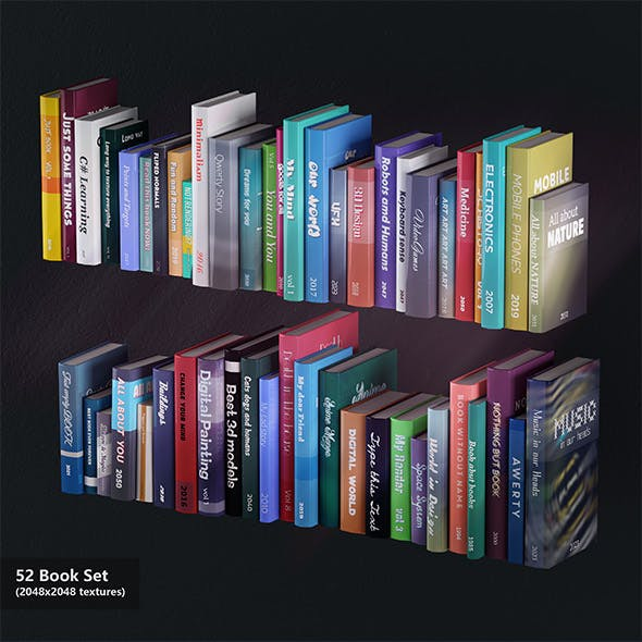52 Books Set