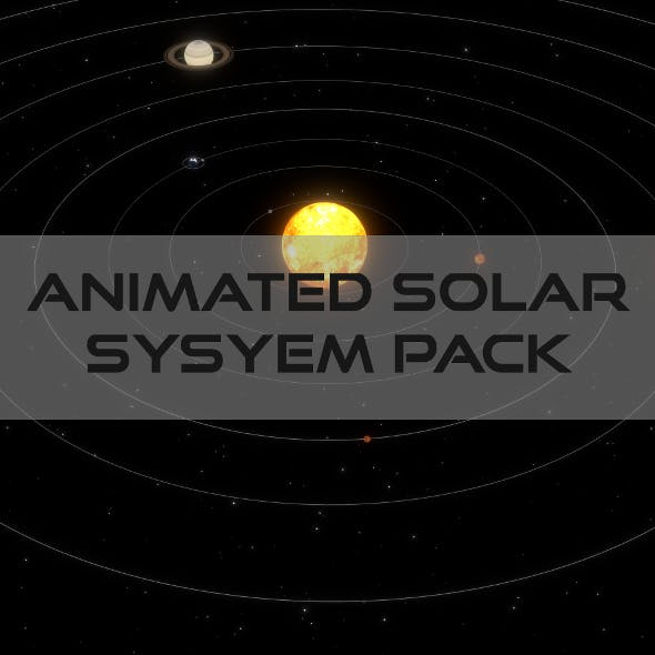 Animated Solar System Pack