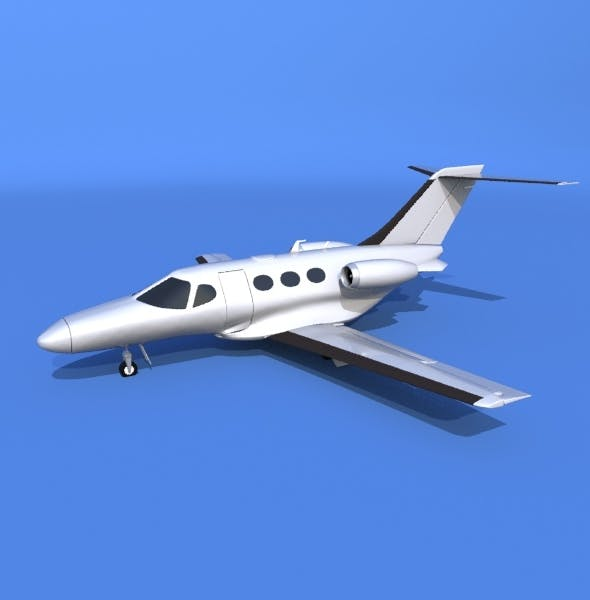 Cessna Mustang private jet - 3DOcean Item for Sale