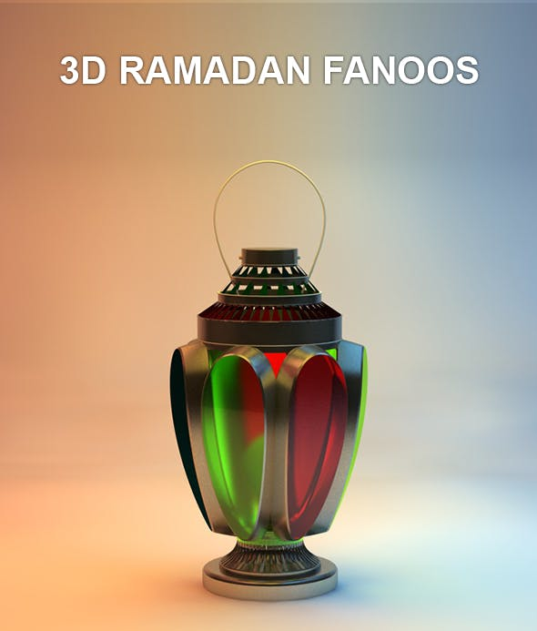Ramadan Fanoos - 3DOcean Item for Sale