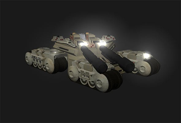 Mamoth Tank - 3DOcean Item for Sale