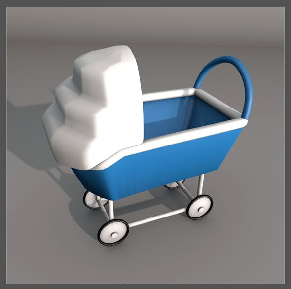 Baby Carriage - 3DOcean Item for Sale