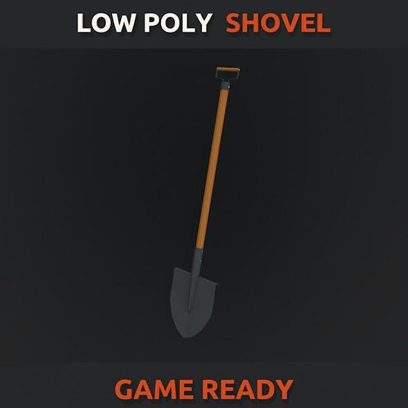 Low Poly Shovel