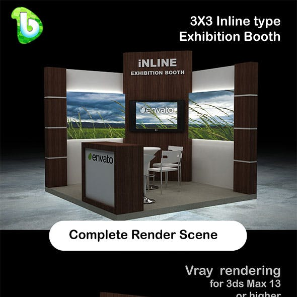 Exhibition Booth - Inline 3x3