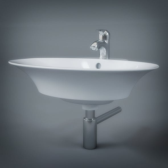 Wash Basin - 3DOcean Item for Sale