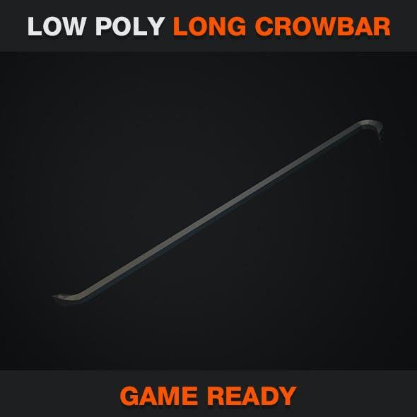 Low Poly Long Crowbar