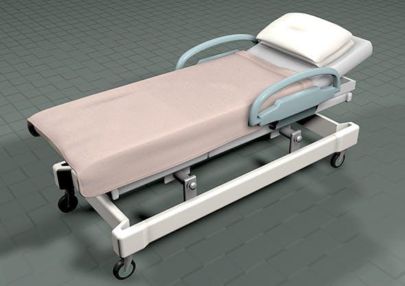Hospital Bed - 3DOcean Item for Sale
