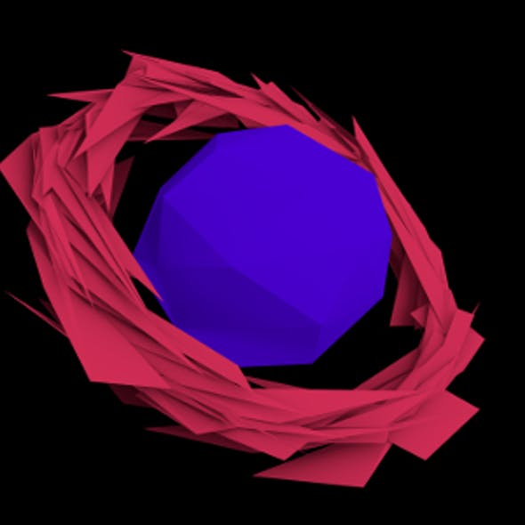 Sharpened Ring Edged planet