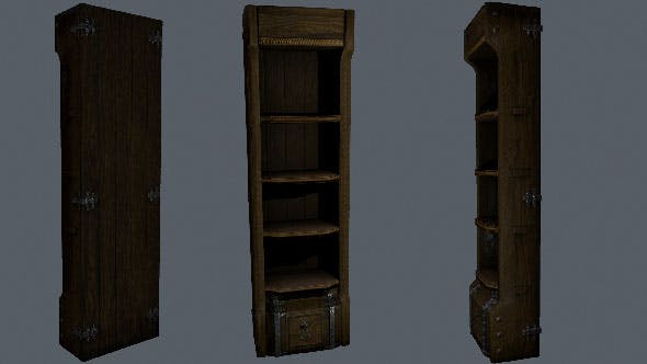 Cupboard - 3DOcean Item for Sale