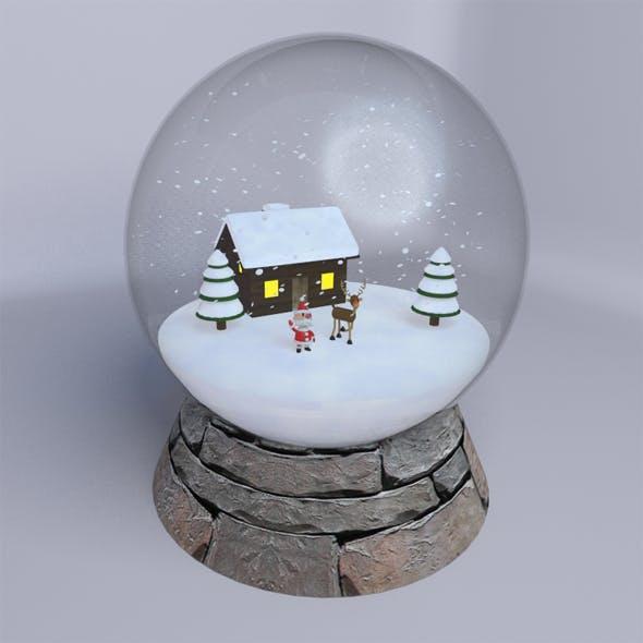 Snow Globe - 3DOcean Item for Sale