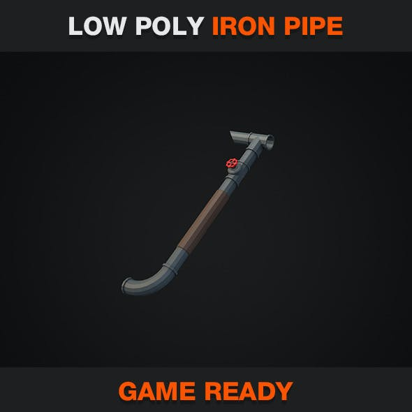 Low Poly Iron Pipe