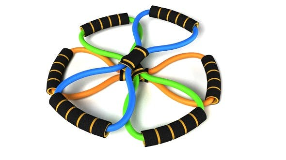 Resistance Bands - 3DOcean Item for Sale