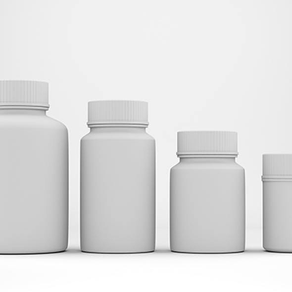 Sample Models of Pharmacy Jars