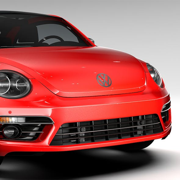 VW Beetle Turbo 2017 - 3DOcean Item for Sale