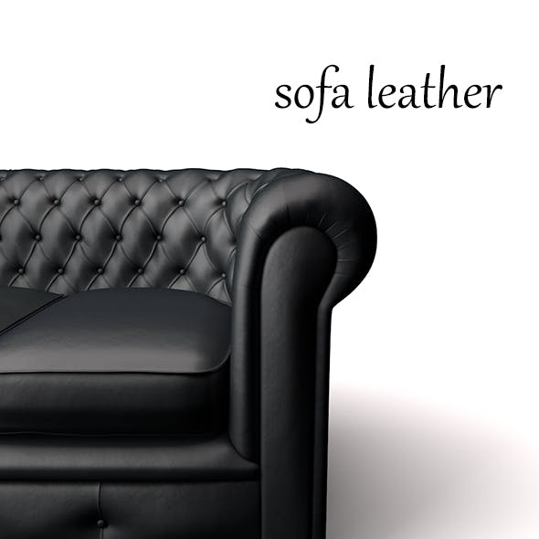 sofa leather - 3DOcean Item for Sale