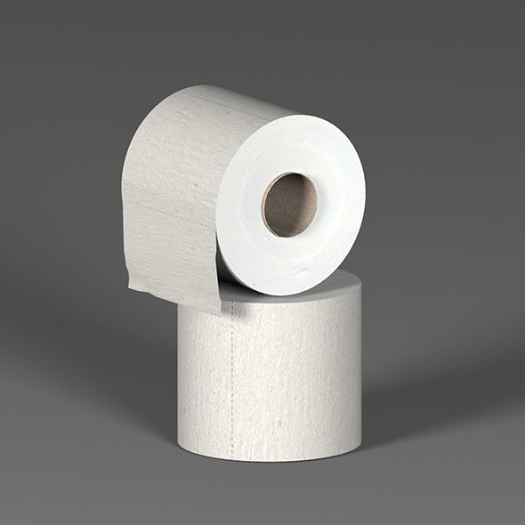 Toilet paper - 3DOcean Item for Sale