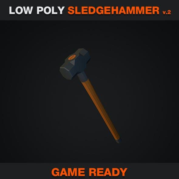 Low Poly Sledgehammer v.2