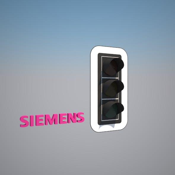 Traffic Light - Siemens 300 DE - 3DOcean Item for Sale