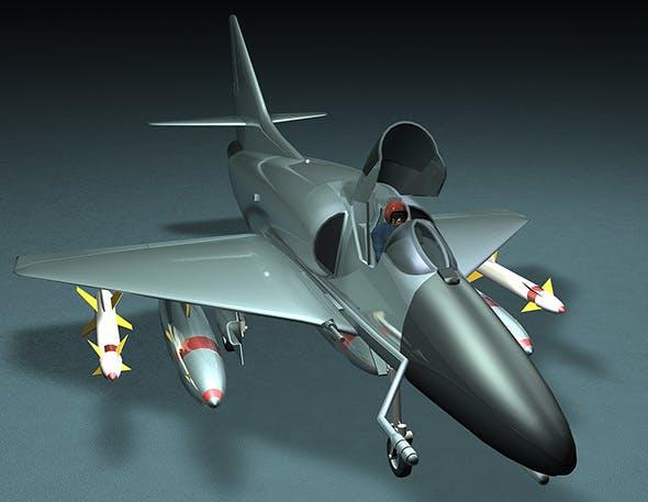 A4E Skyhawk fighter - 3DOcean Item for Sale