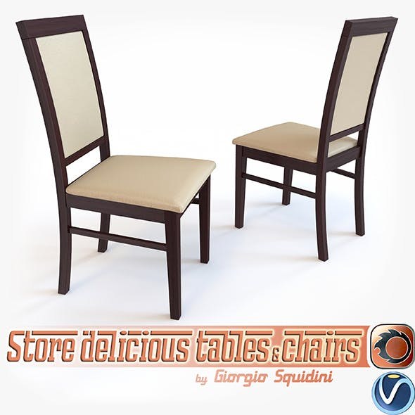 Chair SYLWEK1ECO by Halmar - 3DOcean Item for Sale