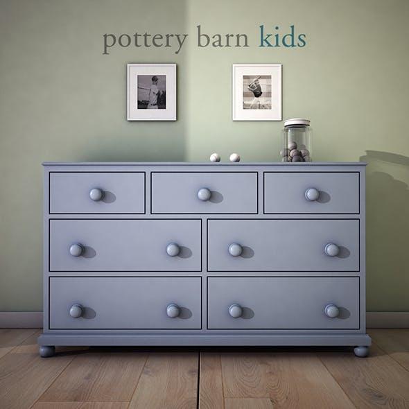 PotteryBarn Catalina Extra-Wide Dresser