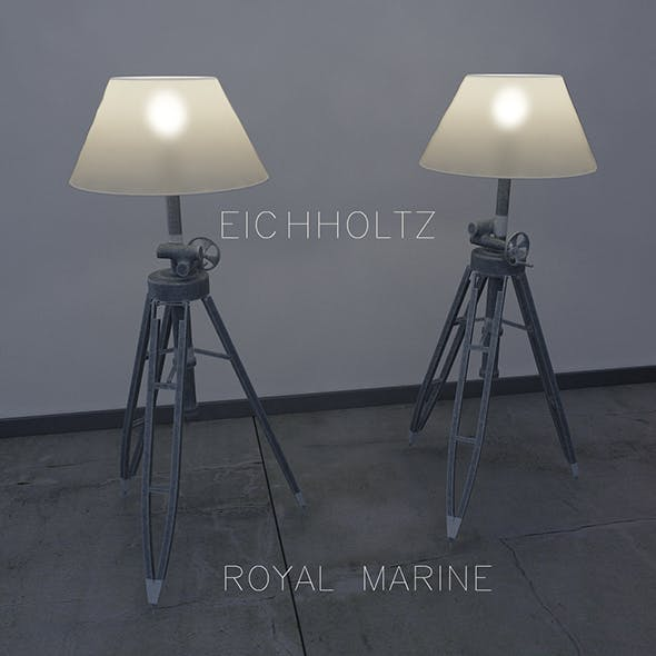 Eichholtz  Floor lamp Royal Marine - 3DOcean Item for Sale