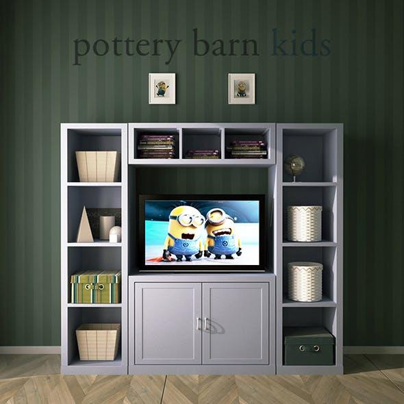 Pottery Barn, Preston Media Wall System