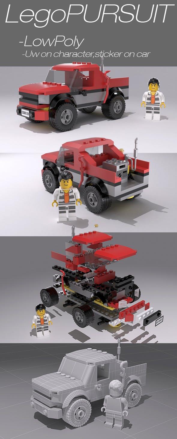 LegoPURSUIT - 3DOcean Item for Sale