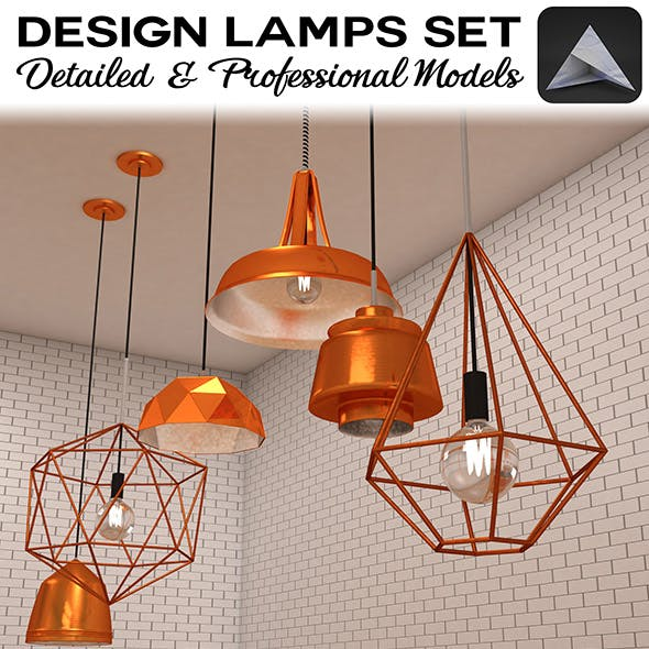 Design Lamps Set