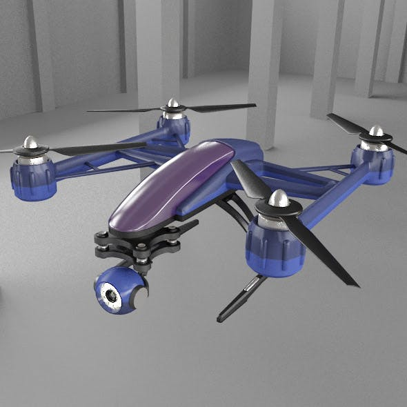 Drone quadcopter F0817 - 3DOcean Item for Sale