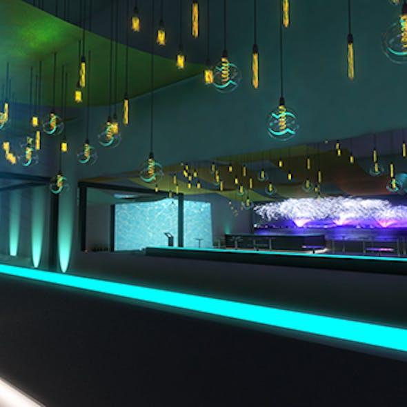 party scenography - nightclub