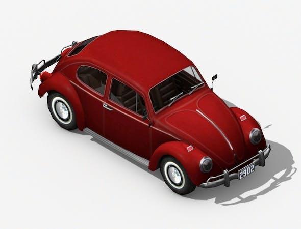 Volkswagen Beetle Classic - 3DOcean Item for Sale