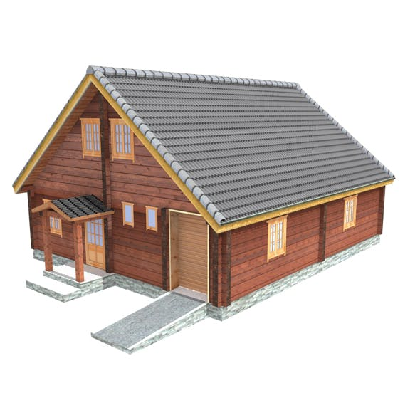 Wooden Shelter 05