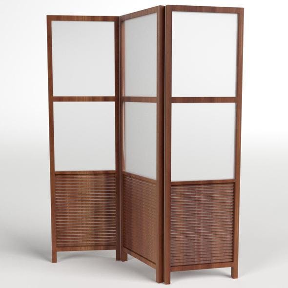 Folding Screen Panel Room Divider
