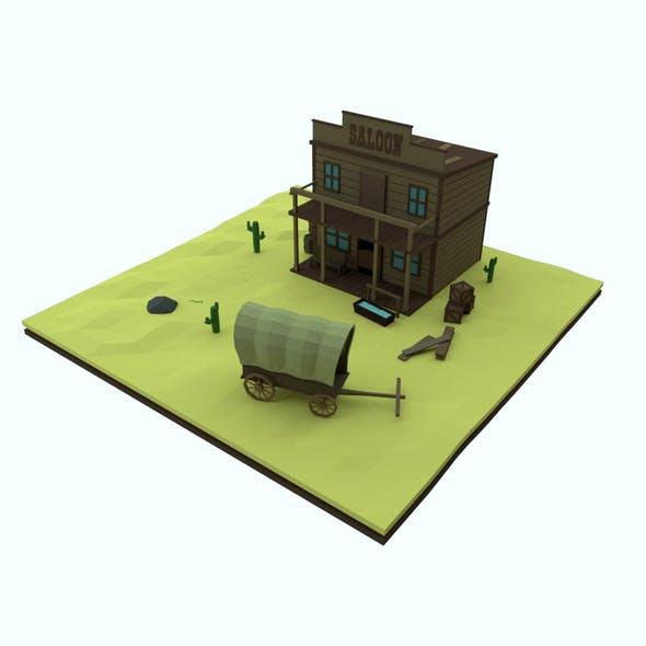 saloon - 3DOcean Item for Sale