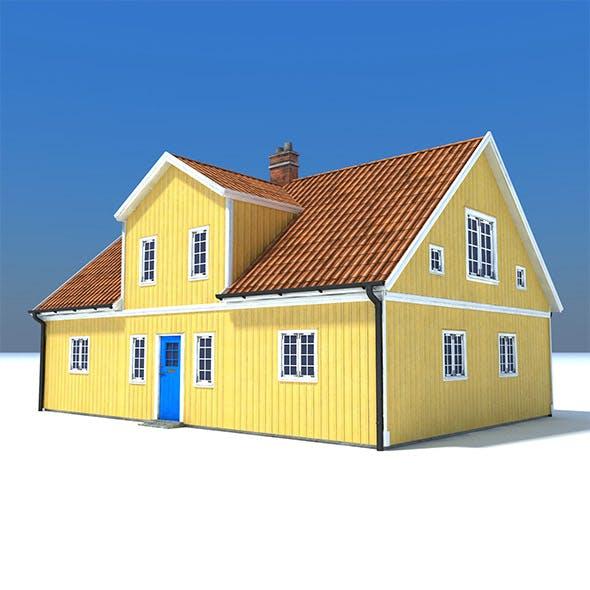 Swedish Yellow House