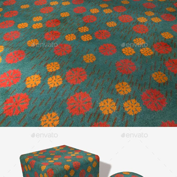 Floral Carpet Seamless Texture
