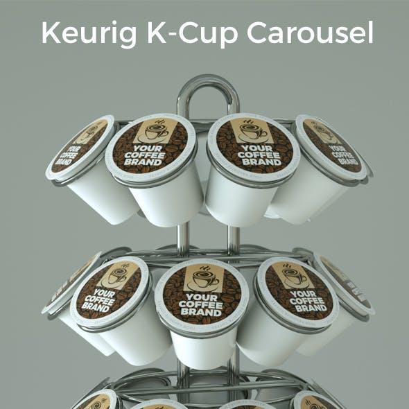 Coffee Pods Carousel 3D model